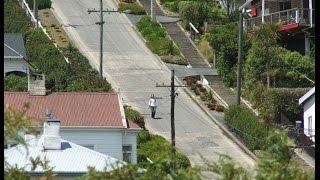 Con phố dốc nhất thế giới Baldwin ở New Zealand