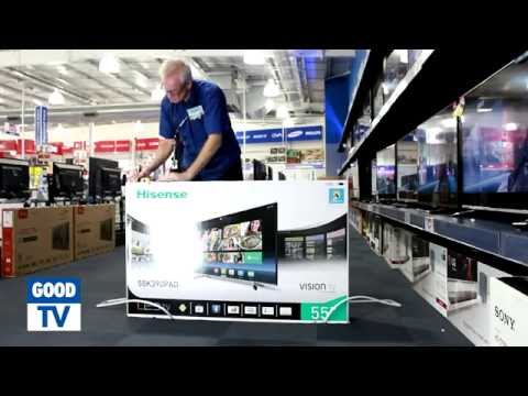 Unboxing Hisense 55 inch Smart TV – available at The Good Guys