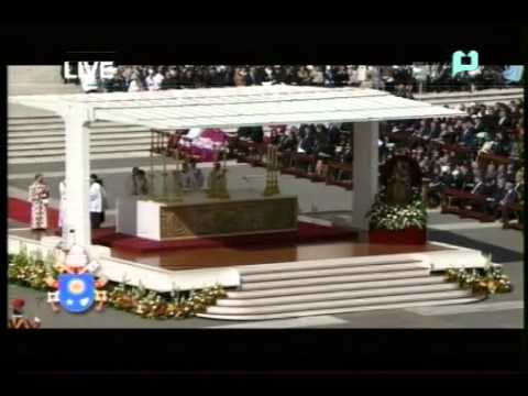 Inaugural Mass of Pope Francis at St. Peter's Square, Vatican City (FULL VIDEO) - [March 19, 2013]