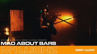 M1llionz - Mad About Bars w/ Kenny Allstar [S5.E2] | @MixtapeMadness