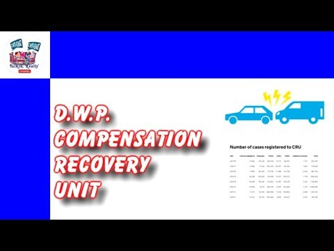 DWP Compensation Recovery Unit (CRU) - Have You Heard Of It?