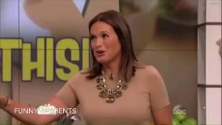 Mariska Hargitay Funny Moments