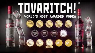 Tovaritch Vodka - Never Drink Alone!
