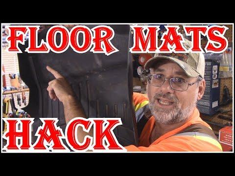 WEATHERTECH FLOOR MATS /FLOOR LINERS - EASY HACK