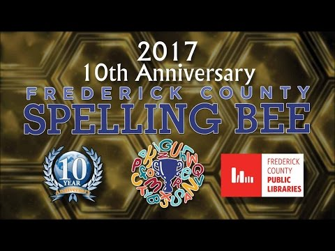 Frederick County Spelling Bee 2017