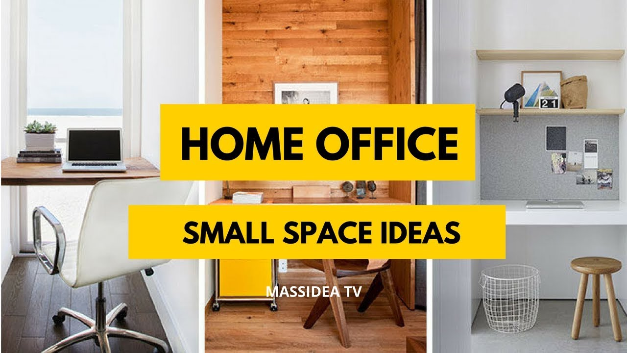 65+ Creative Small Space Home Office Ideas Inspiration 2018