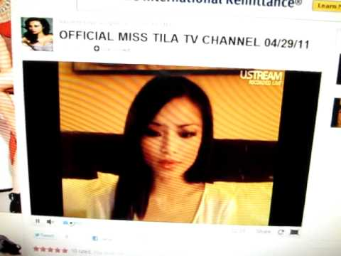 Tila Tequila new ustream video live