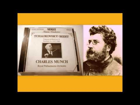 Georges Bizet - Symphony no. 1 in C major, Charles Munch (conductor)