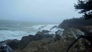 Ocean Storm on the Oregon Coast !