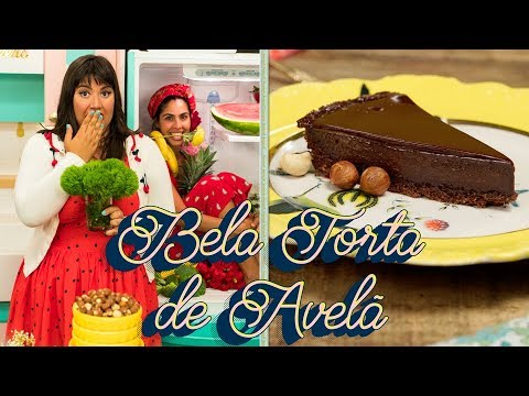 TORTA DE CHOCOLATE CREMOSA E BRILHOSA FEAT. BELA GIL
