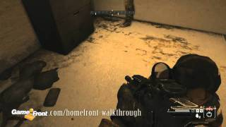 Homefront Walkthrough - PT.13 - Mission 3 - Fire Sale - 4/4