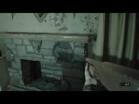 RESIDENT EVIL 7 How to find Treasure Photo Location #1