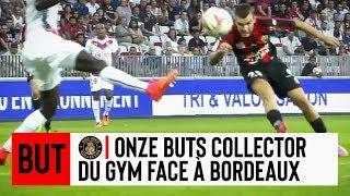 Onze buts collector du Gym à domicile contre Bordeaux
