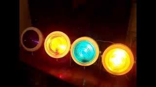 Цветомузыка Мираж 3 & Стереомагнитофон-приставка ОРБИТА 107 С