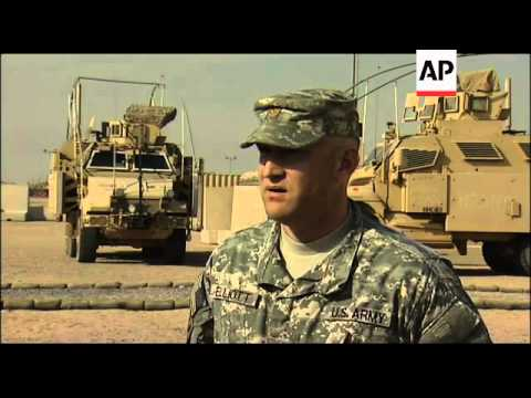 Hundreds Of US Troops Arrive In Kuwait From Iraq