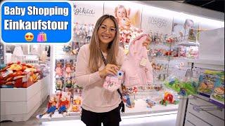 Baby Shopping Haul 😍 Alles in rosa! Einkaufen mit den Kindern | Weihnachtsmarkt 2019 | Mamiseelen