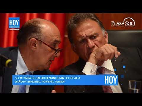 Noticias HOY Veracruz News 27/11/2017