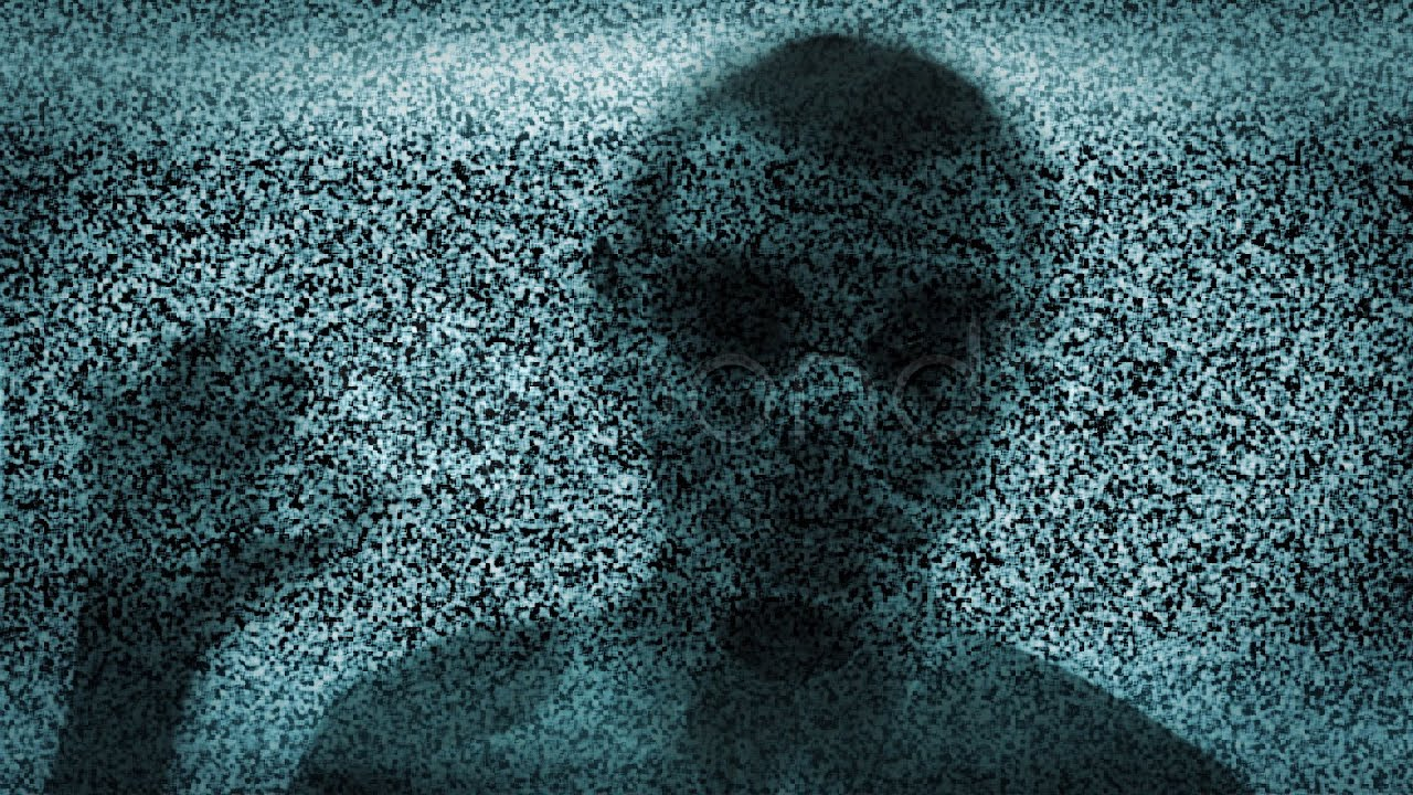 Tv static ghost with noise stock footage youtube - What is tv static ...