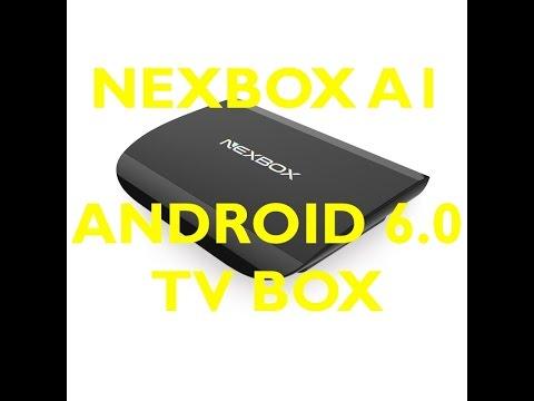 Осем ядрен ТВ бокс с Андроид 6.0 NEXBOX A1 TV 2G RAM +16G - KODI 16,1 11