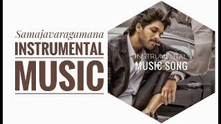 Allu Arjun Samajavaragamana Instrumental Song | Violin Cover 2019.mp3