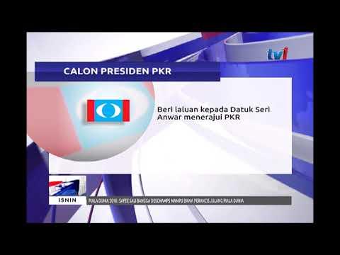 CALON PRESIDEN PKR - BERI LALUAN KEPADA DATUK SERI ANWAR MENERAJUI PKR [16 JULAI 2018]