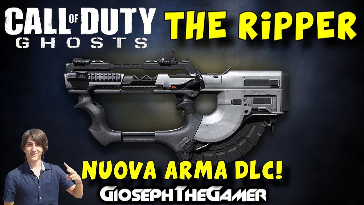 Call of Duty: Ghosts   DLC DEVASTATION ITA   NUOVA ARMA ... Cod Ghost Devastation Ripper