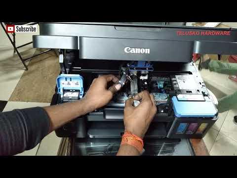 Canon G2000 printing problem