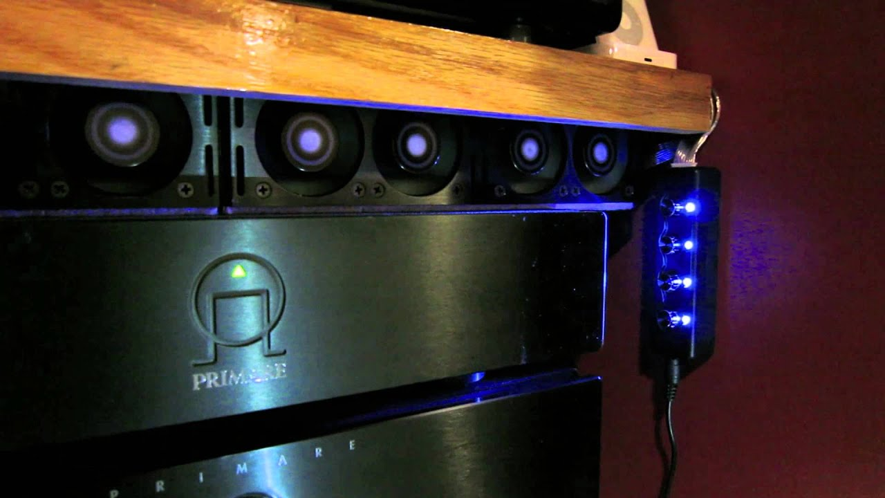 Cooling solutions for home theater - YouTube