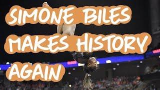 Simone Biles Makes History Again: 2019 US Gymnastics Championships