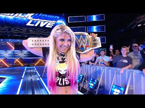 Alexa Bliss' WWE Women's Championship victories