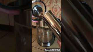 Electric Glass Hot Water Kettle by Asani Review [TOMOSON REVIEW]