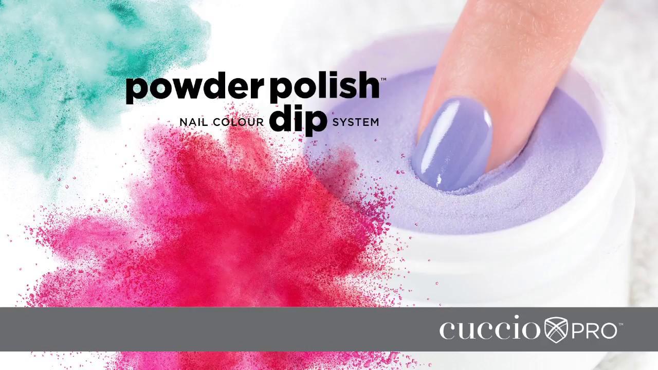 Cuccio Pro Powder Polish Step By Step Youtube