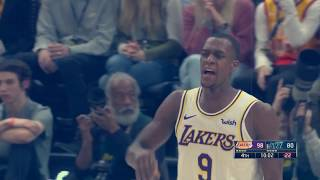 Rajon Rondo is a shooter now, and is helping the Lakers in other ways too