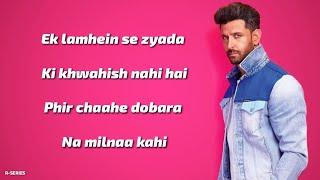 Ghungroo (Lyrics) - Hrithik Roshan, Vaani Kapoor | Arijit Singh, Shilpa Rao | War