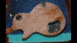 Gibson Les Paul Traditional Plus Lemon Drop Refinishing Process