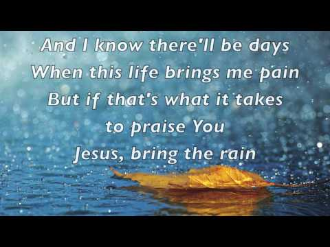 MercyMe - Bring the Rain - (with lyrics)