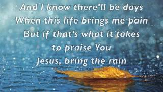 MercyMe - Bring the Rain - with lyrics