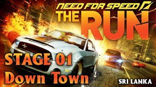 Need for Speed - The Run - Full Gameplay - Intro/Stage 01 (Downtown) | Sri Lanka