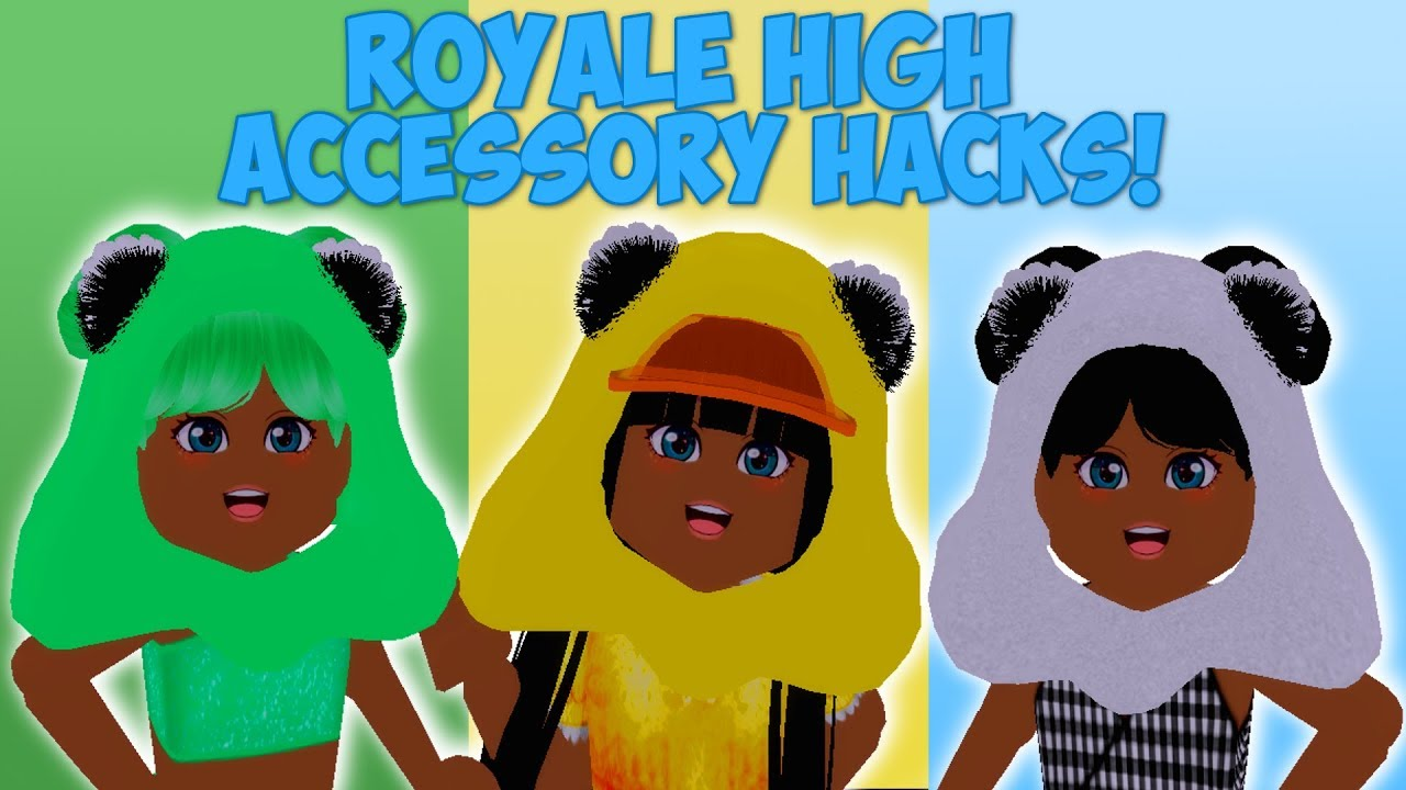 Royale High Accessory Hacks Animal Hoods Demon Headphones