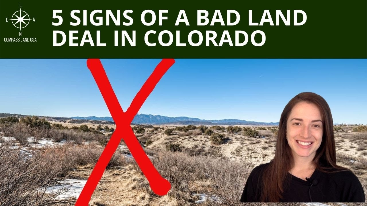5 Signs of a Bad Land Deal in Colorado
