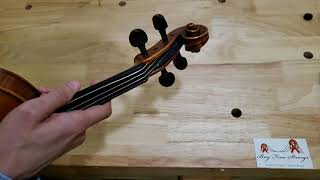 How to Change or Replace Strings on a Violin, Viola, or Cello