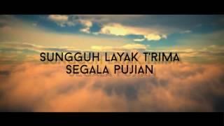 Juruselamat Dunia with Lyrics -  Sari Simorangkir (Light Up Christmas 2016)