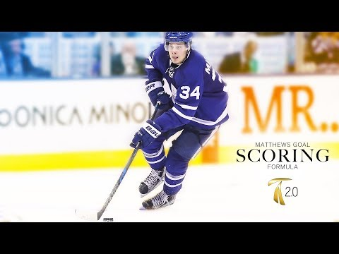 How To Score Goals In Hockey - Auston Matthews Goal Scoring Formula