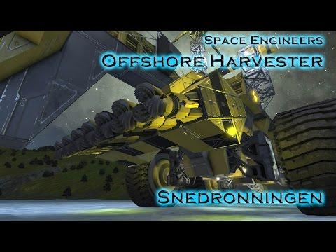 Offshore Harvester Snedronningen - Fahrzeugvorstellung Space Engineers