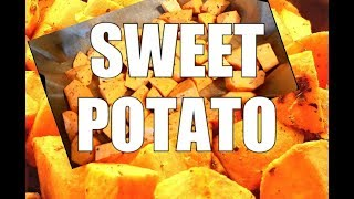 HOW TO PREPARE YOUR ROASTED SWEET POTATO | Chef Ricardo Cooking