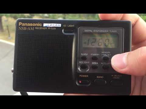 PANASONIC R-039 NSB SHORTWAVE / AM BAND SCAN in North York,