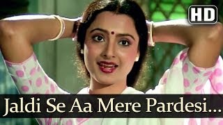 Jaldi Se Aa Mere Pardesi (HD) - Jeevan Dhara Songs - Raj Babbar - Rekha - Kavita Krishnamurthy