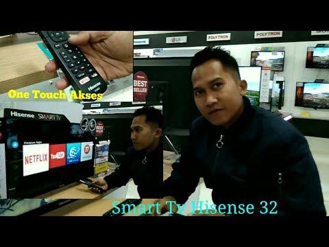 Rivew smart tv Hisense 32 inci