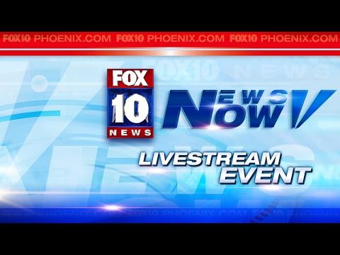 LIVE: Arizona Governor Protest Outside Radio Station in Phoenix