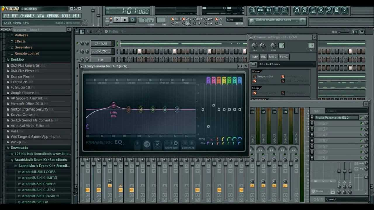 Secret Art Of Mixing Part 1 How To Eq Kick And 808